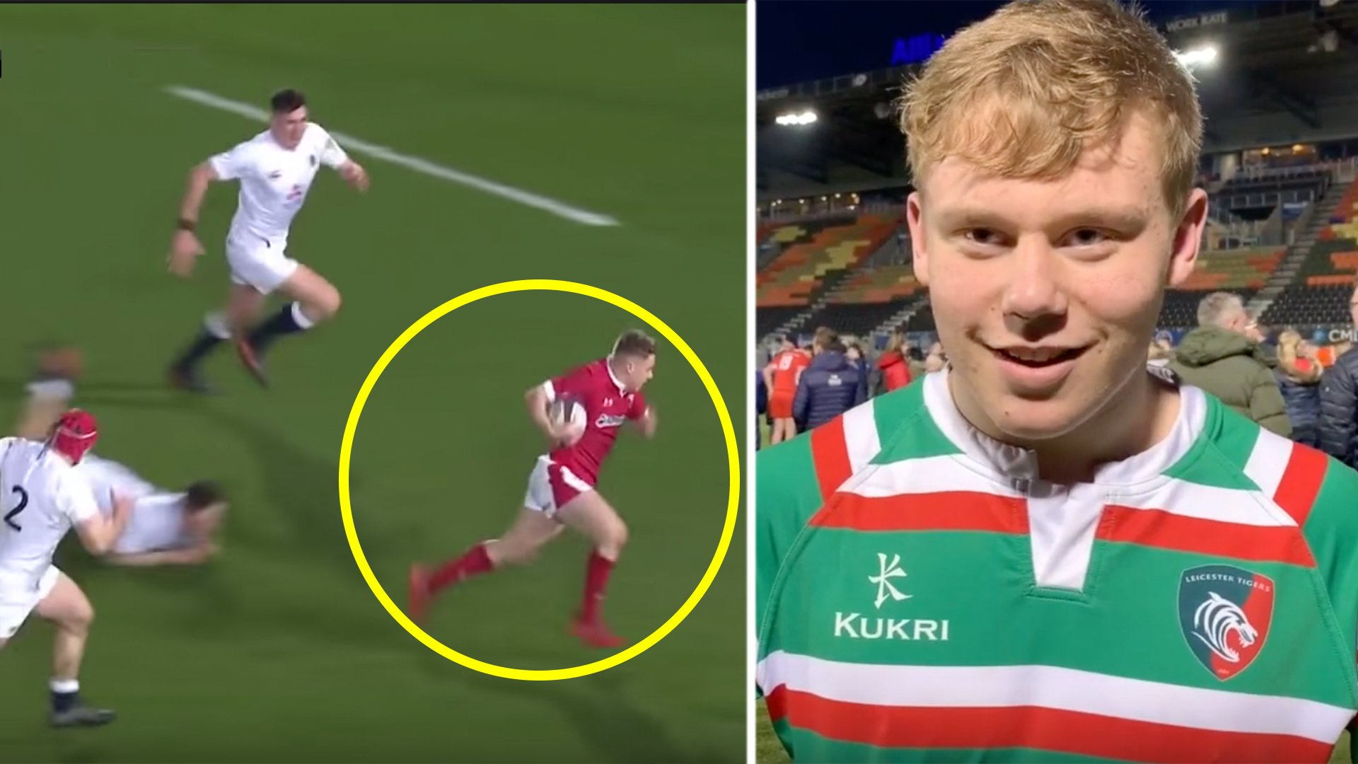 The unbelievable highlights of the  rugby wonderkid who ditched Leicester Tigers for Wales