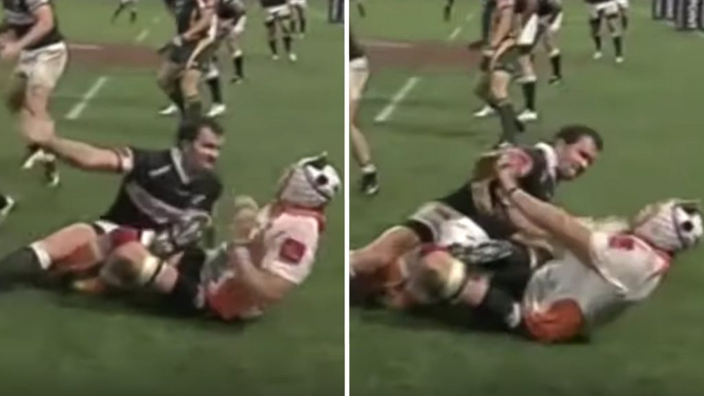 Disturbing video reveals just how aggressive Bismarck Du Plessis really is