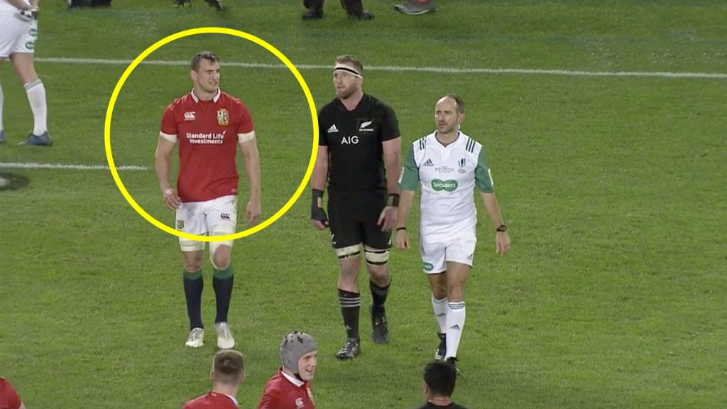 New video reveals how Sam Warburton influenced referee in final moments to save Lions Series