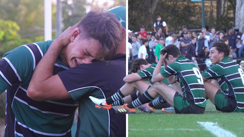 A video of an Australian rugby school losing their final match is going viral online