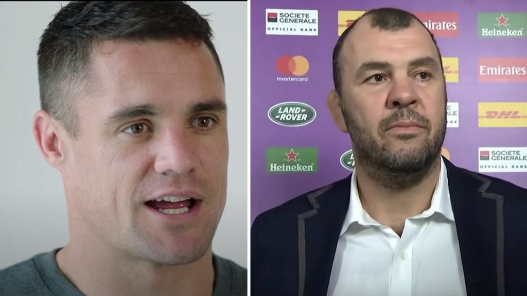 Dan Carter has just roasted Michael Cheika and Australia's win record to his face on video