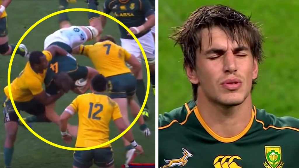 The only man to truly dominate Eben Etzebeth in a tackle