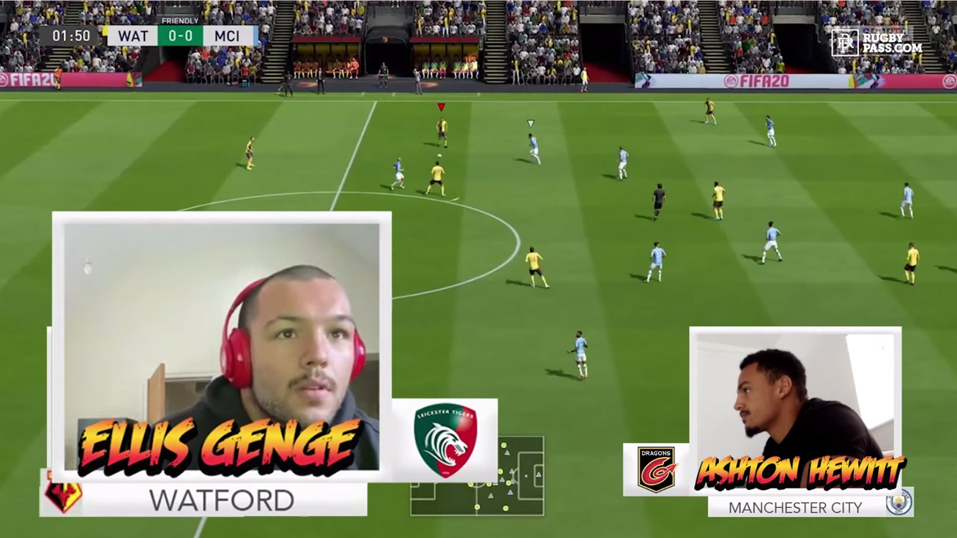 So it turns out rugby star Ellis Genge is really REALLY good at FIFA