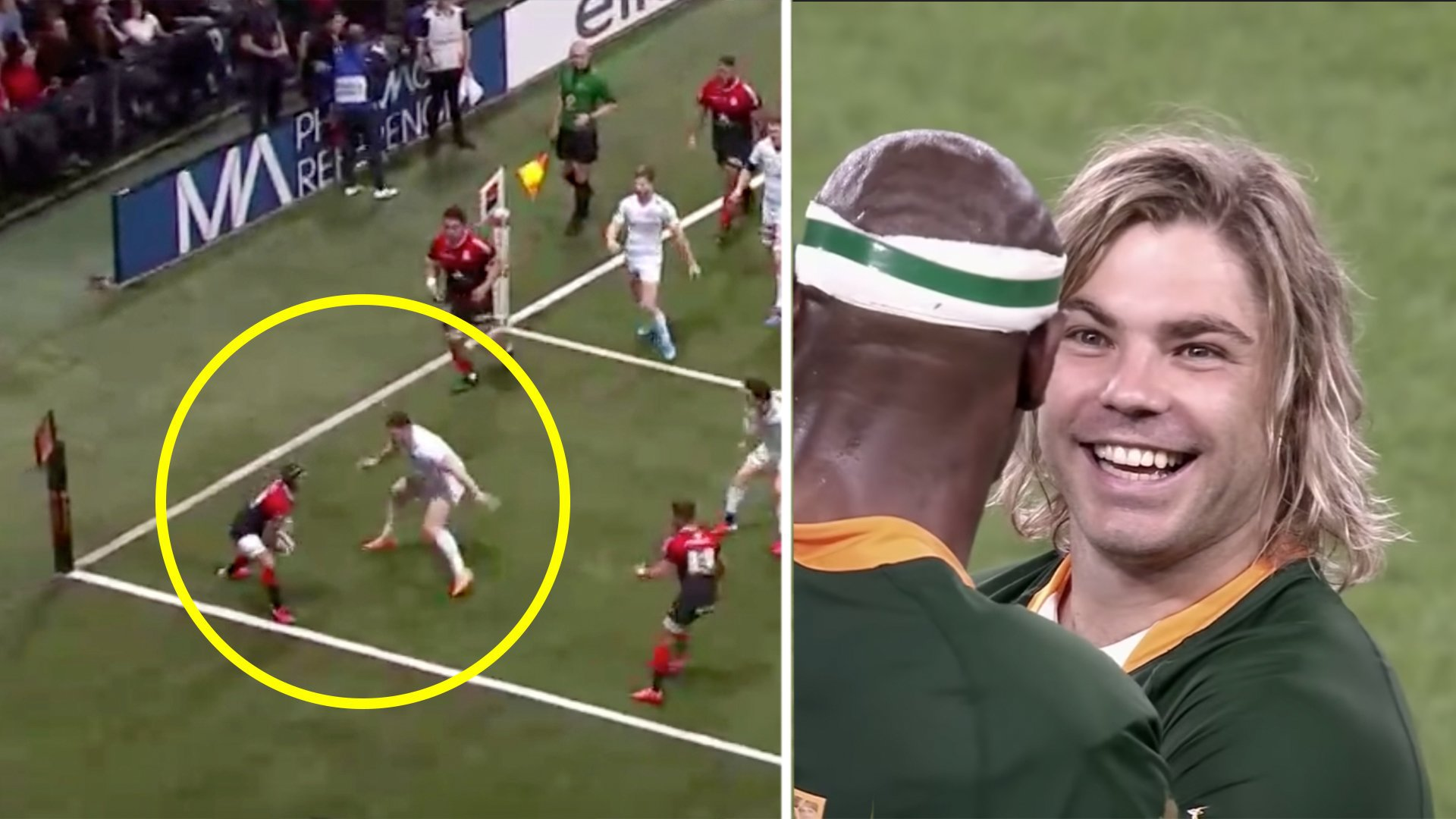 Incredible new video shows how effective Faf de Klerk and Cheslin Kolbe are despite their size