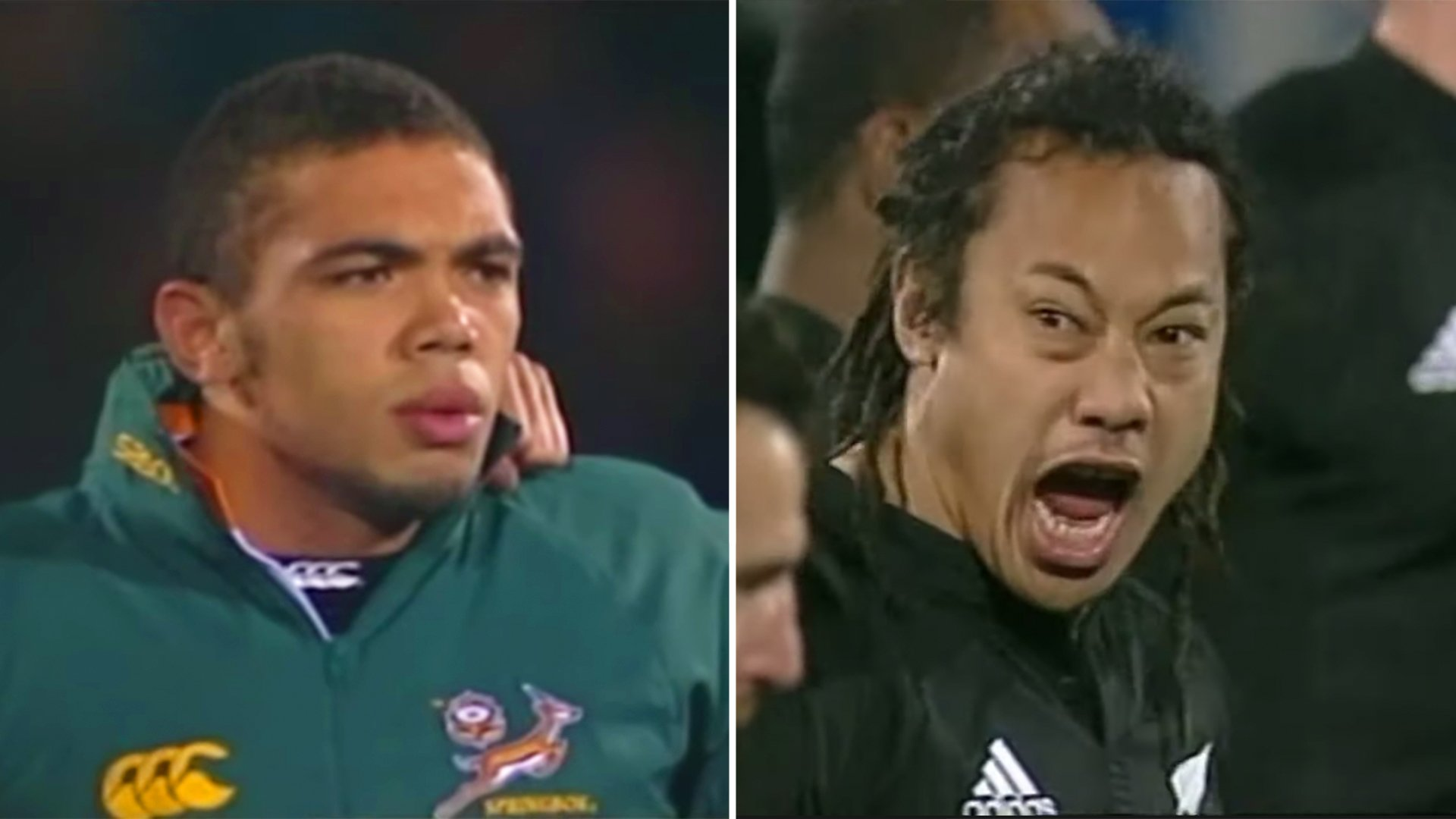 The All Blacks have released footage of their first ever Kapa O Pango haka which terrified the Springboks