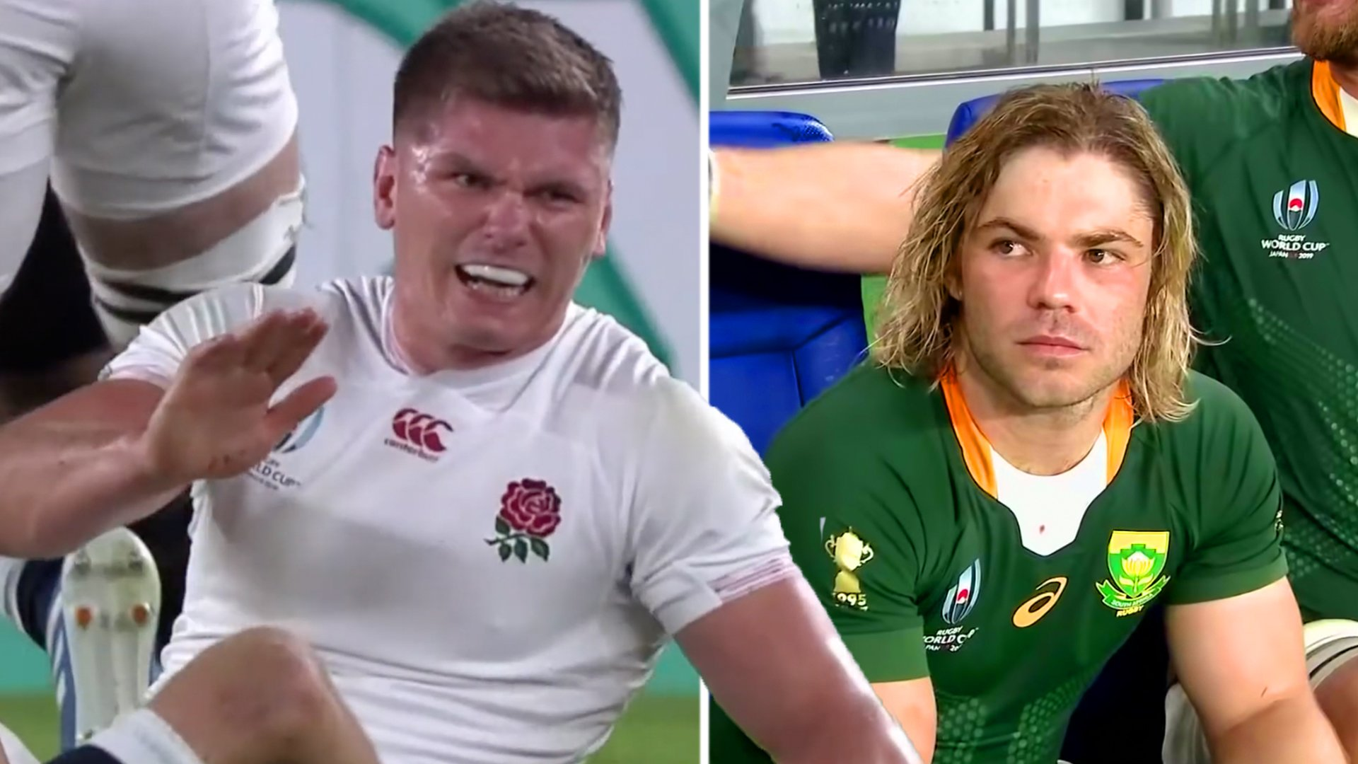 South African fans are not happy about new Owen Farrell 'King of the Jungle' video