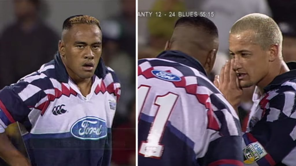 Super Rugby have released the game when Carlos Spencer and Jonah Lomu were unstoppable