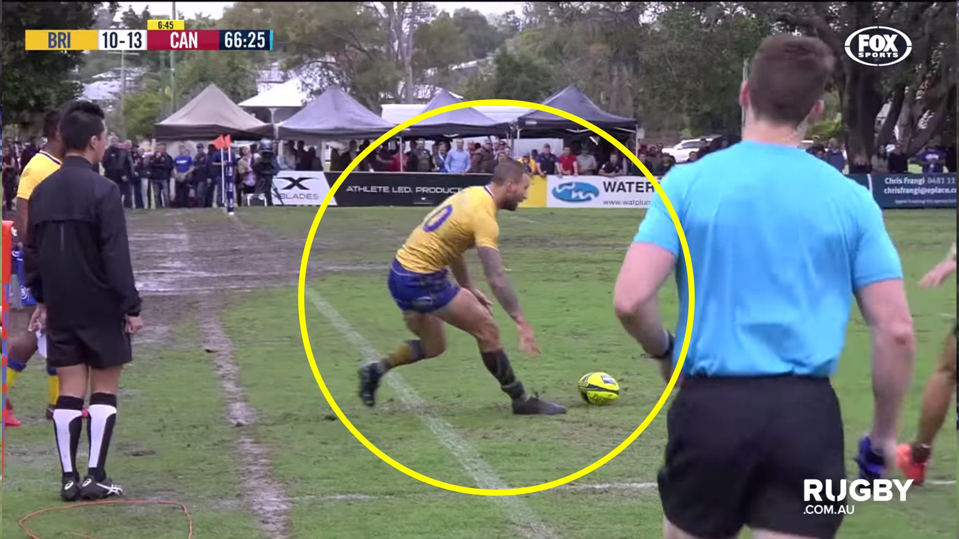 Quade Cooper humiliated all his opponents when he played semi pro