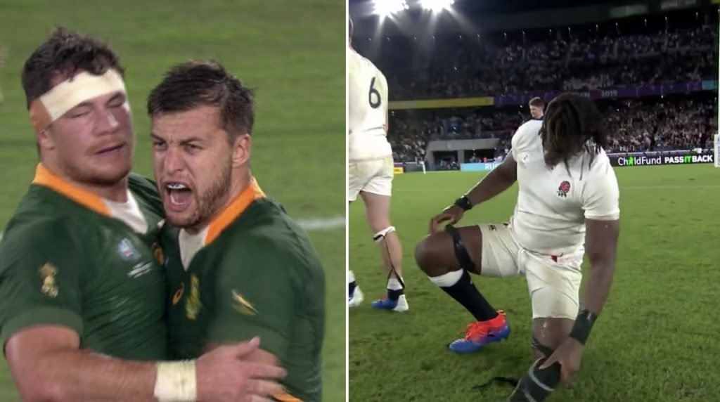 England and South Africa responses to winning their World Cup semi finals games shows why Springboks won