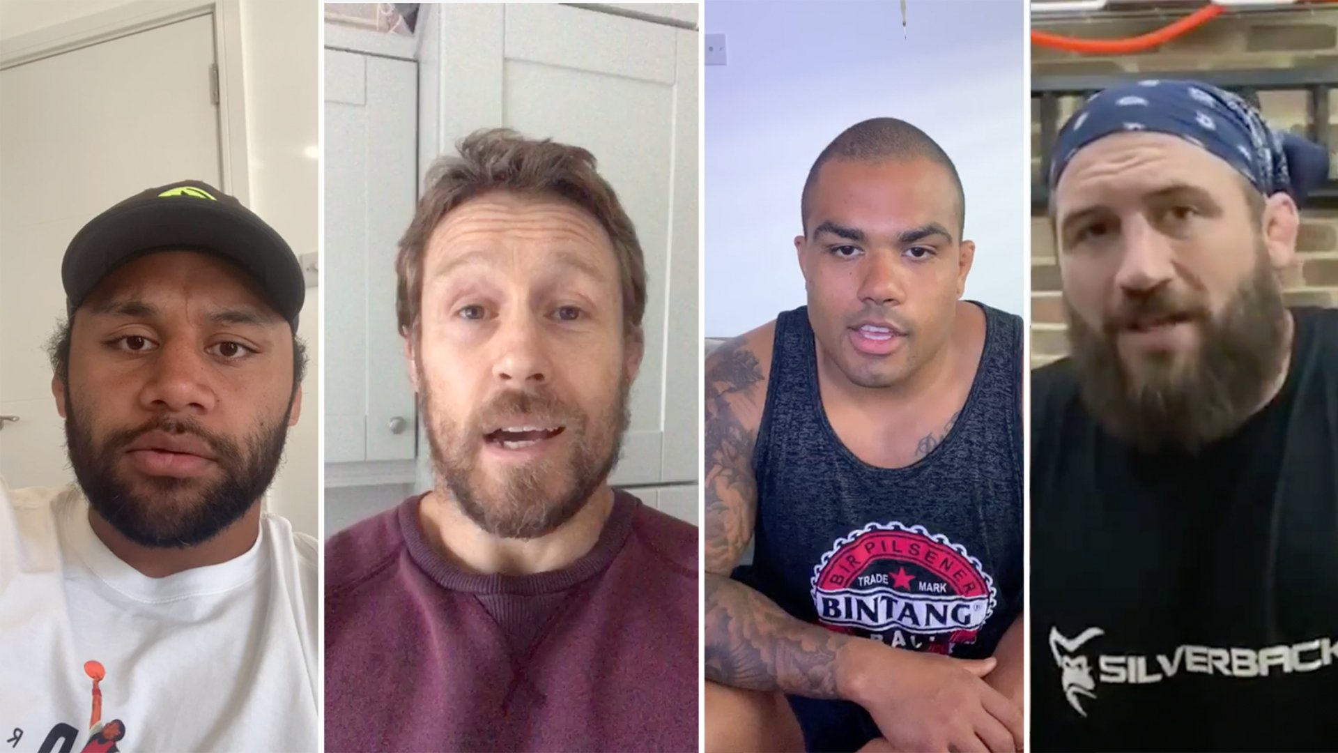 Rugby stars have suddenly started taking part in this challenge
