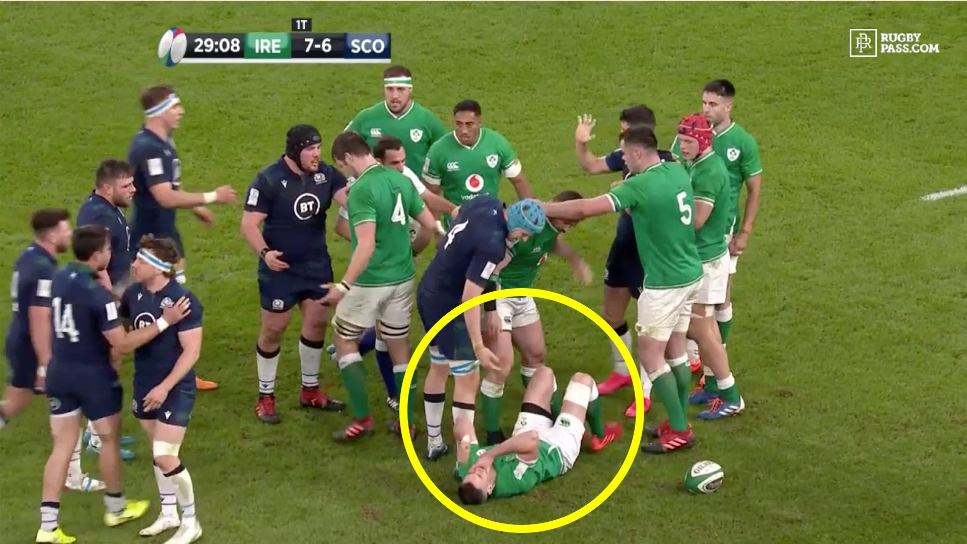 The time when fans lost their patience with Johnny Sexton as he let down all of Ireland in captain debut