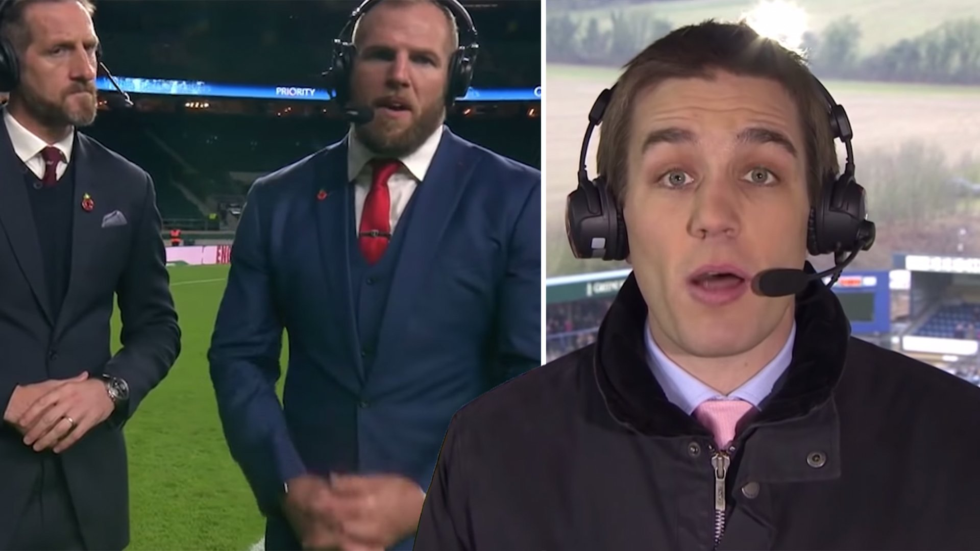 Sky Sports have just posted a brutal compilation on James Haskell and Alex Payne's worst live TV gaffes