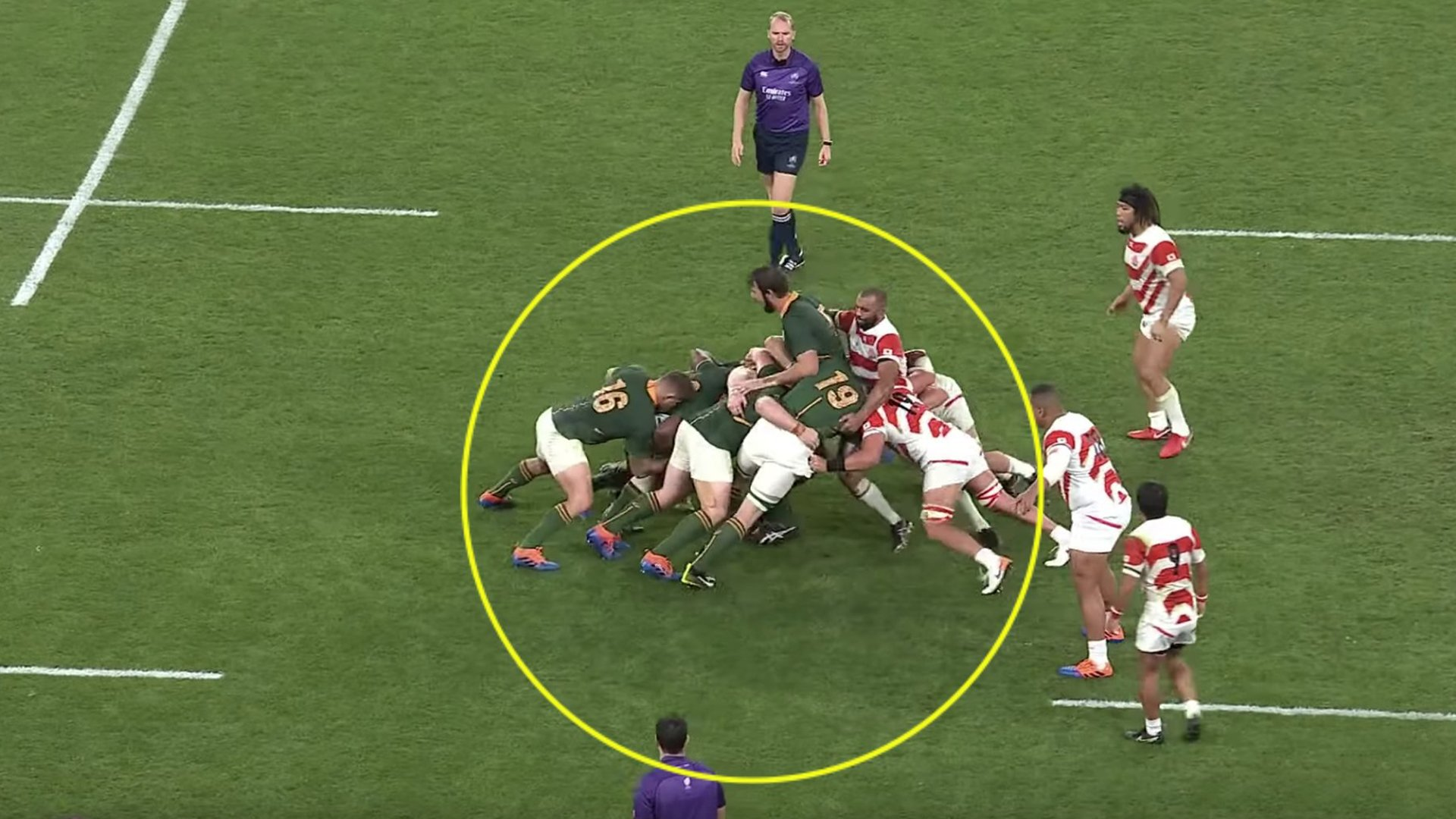 The South African maul at the Rugby World Cup was simply unstoppable