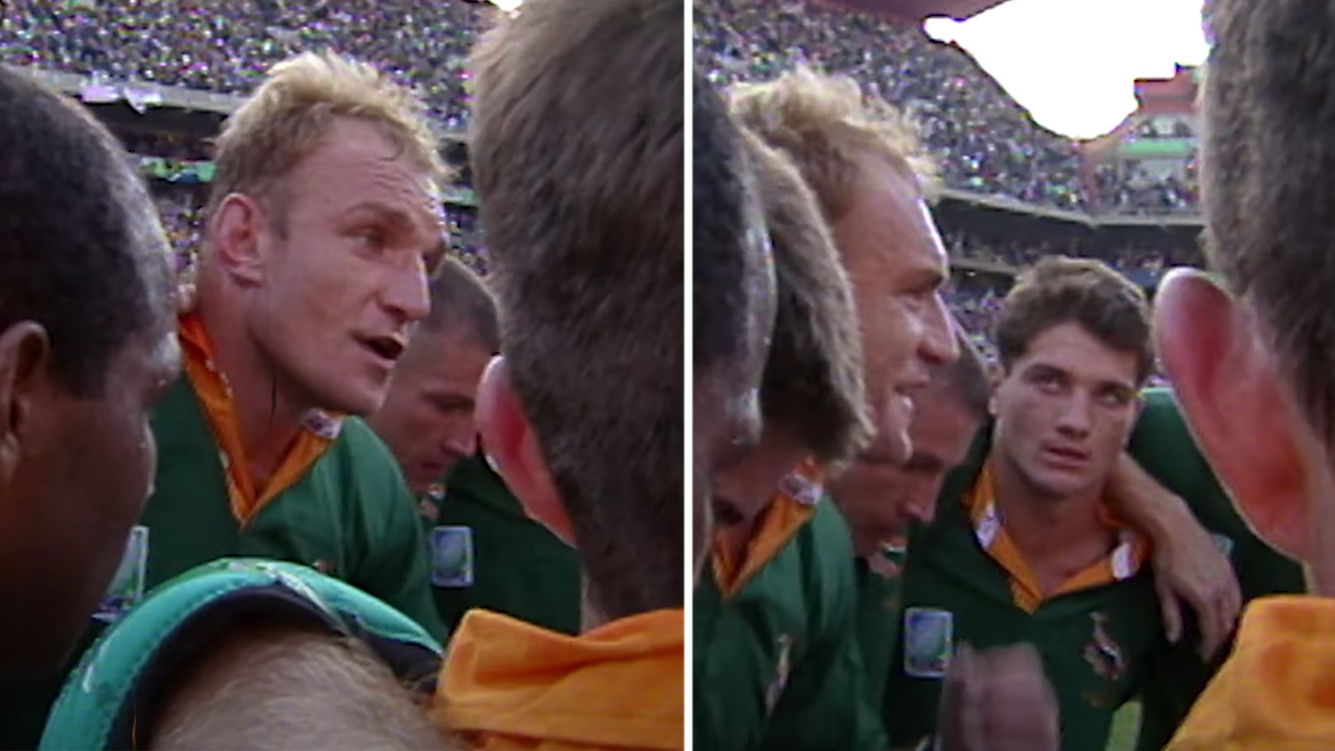 World Rugby have just released the incredible Francois Pienaar teamtalk that won the World Cup