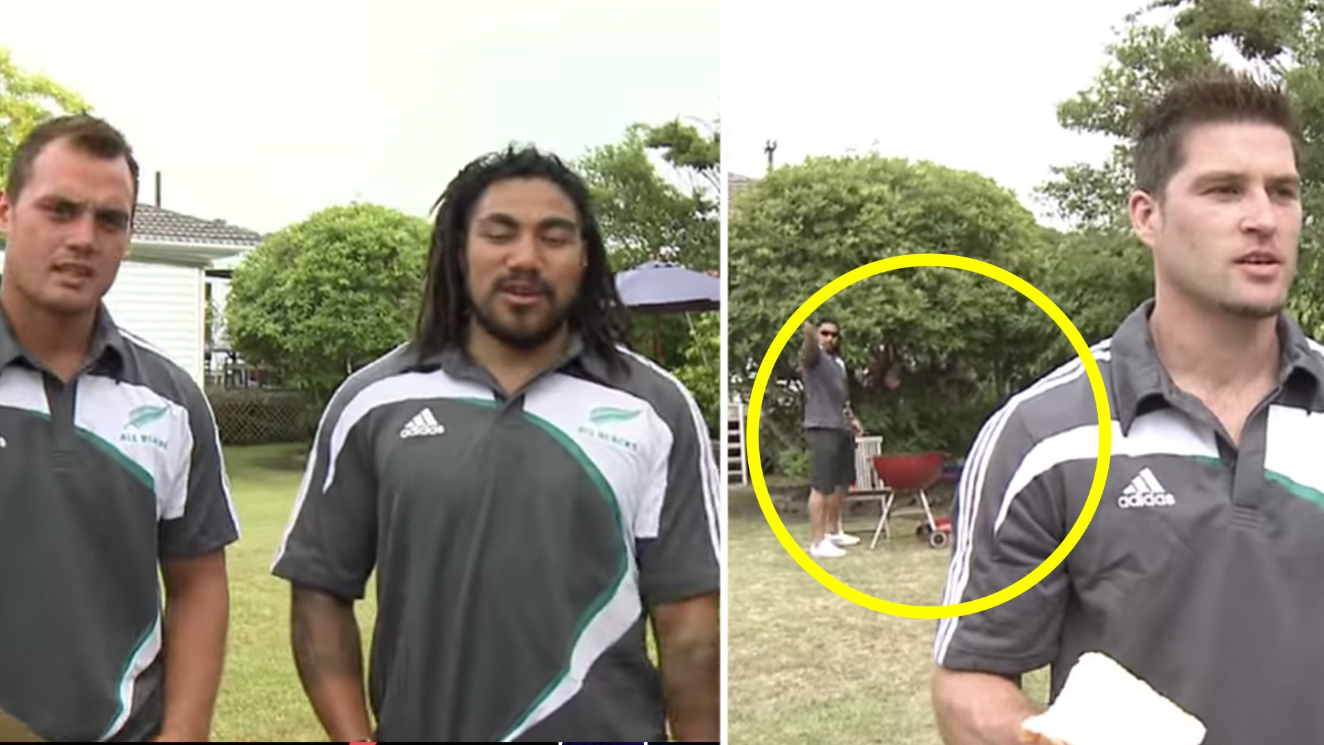 The original All Black trick shots video has suddenly gone viral again 9 years later