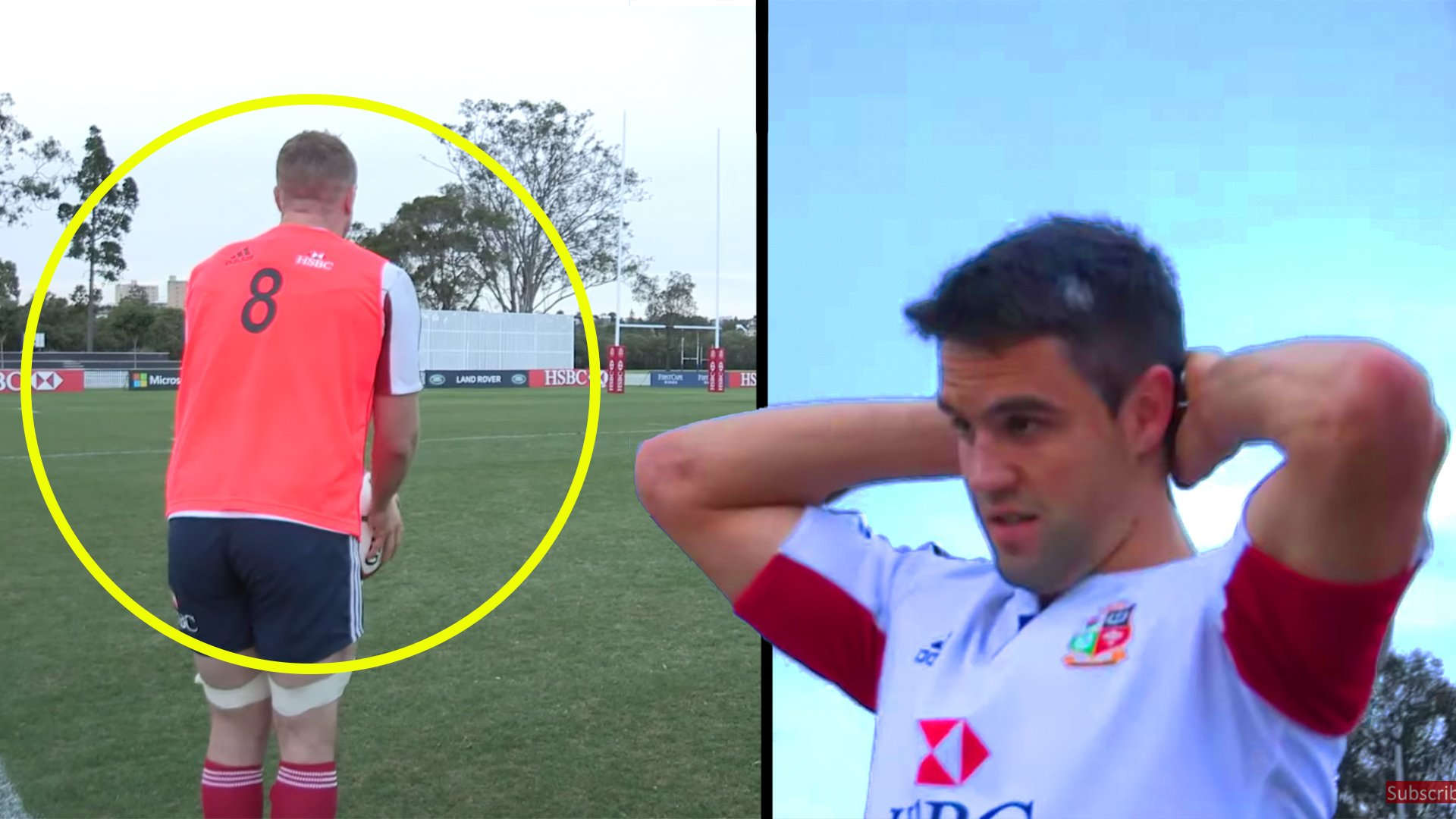 New video shows Connor Murray betting £1000 that Heaslip couldn't score drop goal in training