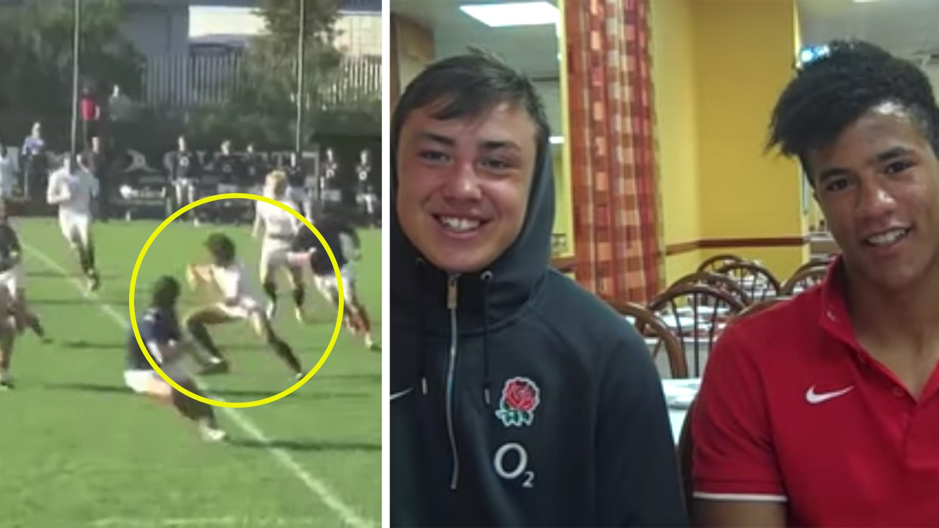 Devastating highlight reels of young England stars that showed they were the real deal
