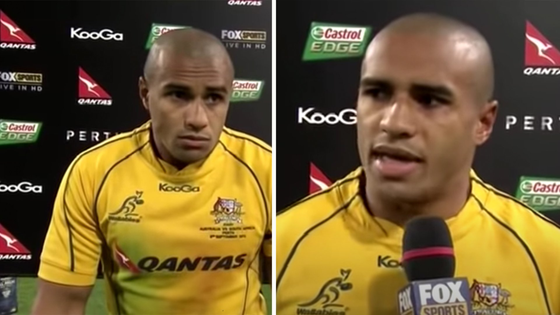 Will Genia outburst that resulted in one of the most awkward post match interviews of all time