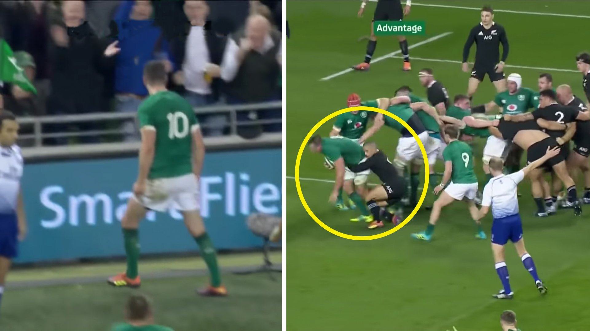 Phenomenal video shows moment All Blacks realised they couldn't beat Ireland