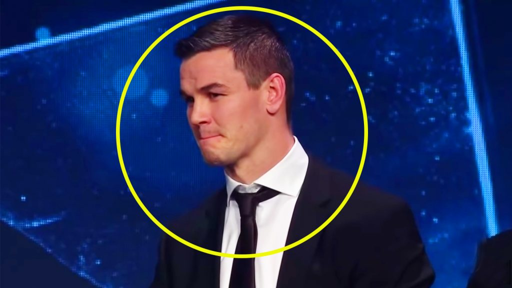 Abysmal music choice spoils Jonny Sexton's World Rugby award presentation