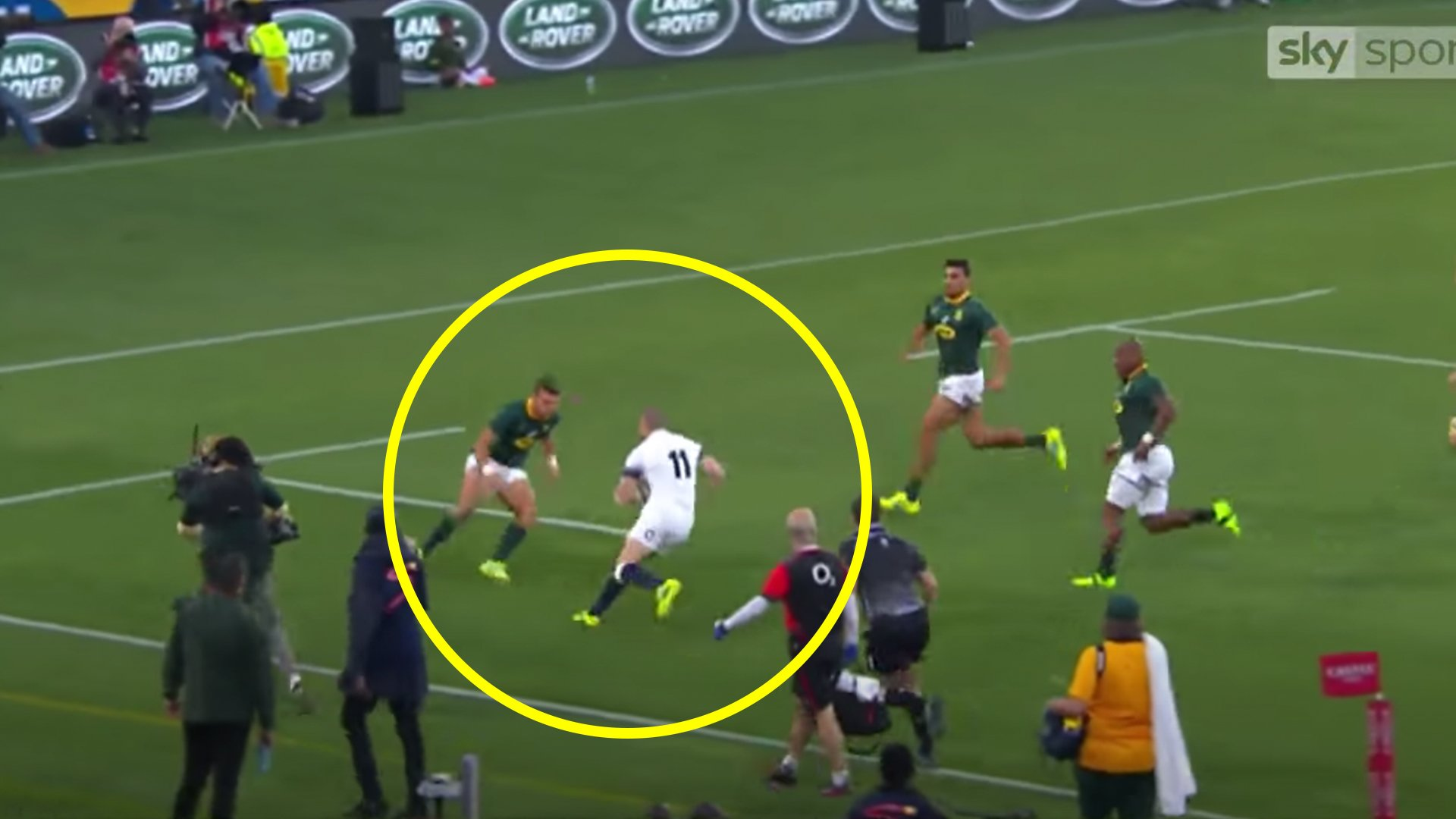 The Mike Brown violation of Handre Pollard which makes Kolbe on Farrell look like child's play
