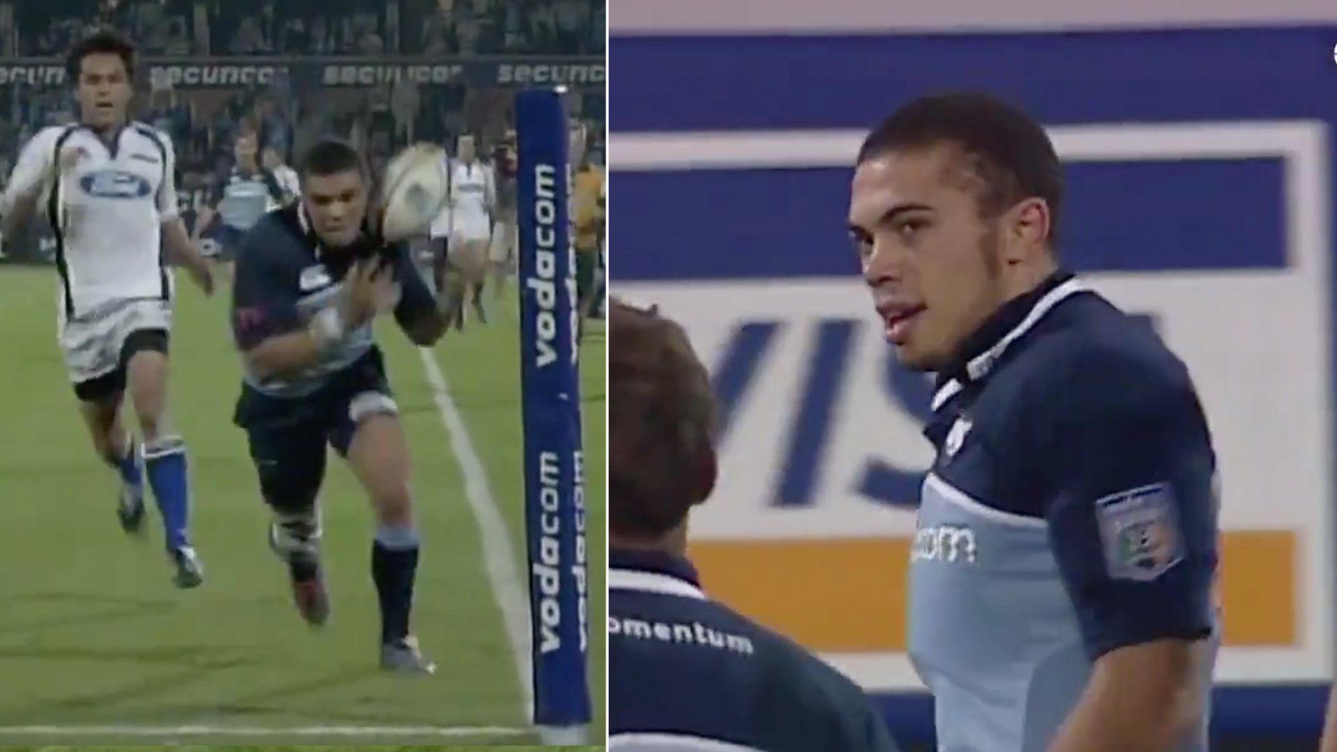 New footage has been released of the Bryan Habana try where he ran faster than most 100m sprinters