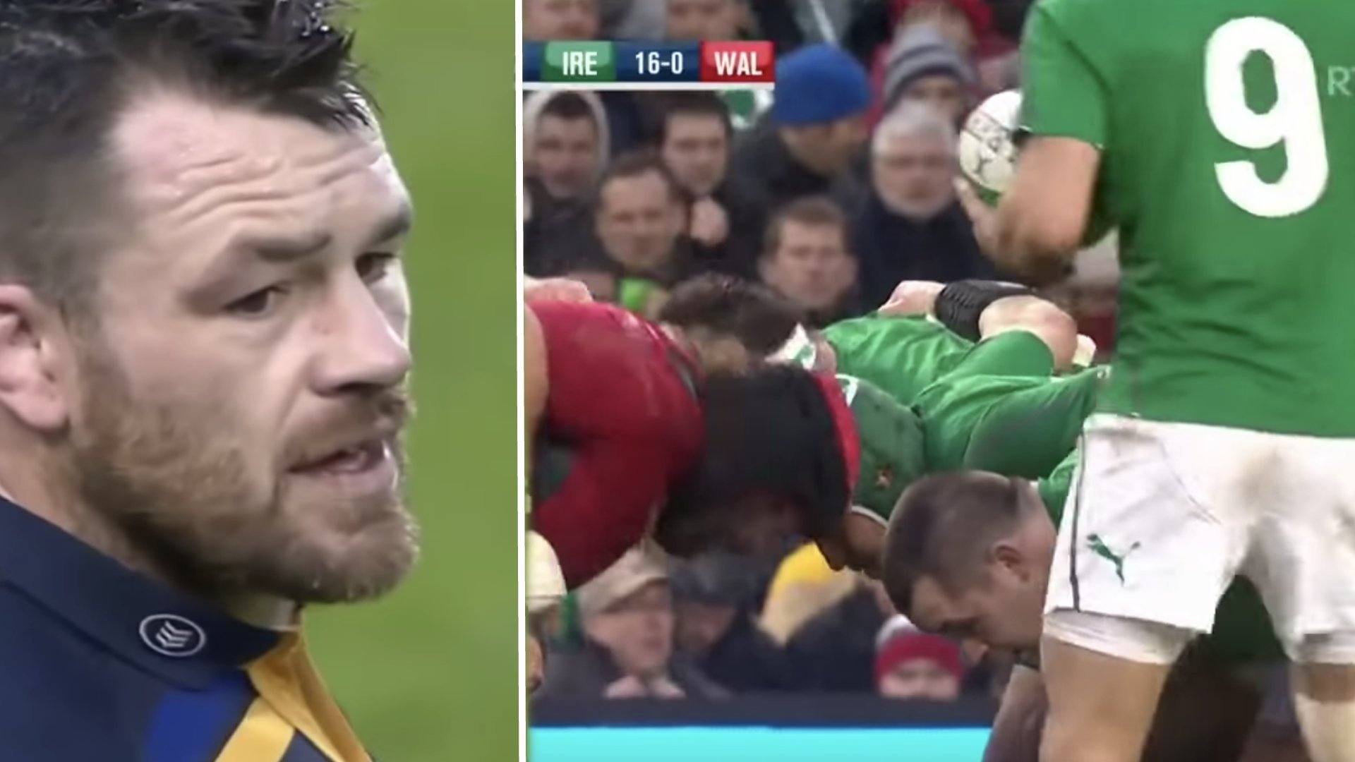 Cian Healy is an utter thug in dark compilation video