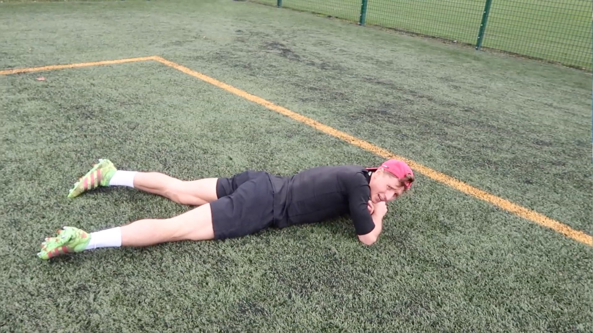 Fitness influencer foolishly tries rugby endurance training
