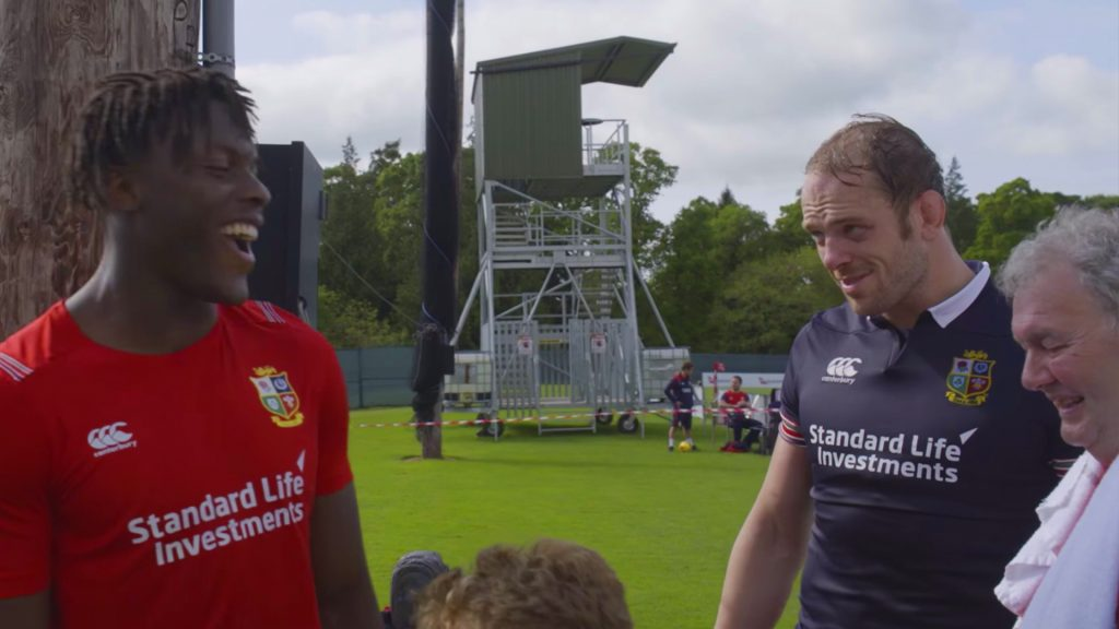The blossoming bromance between Maro Itoje and Alun Wyn Jones