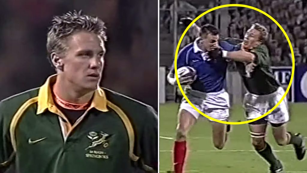 Jean de Villiers' Springboks debut was so bad that it made him the best captain they ever had