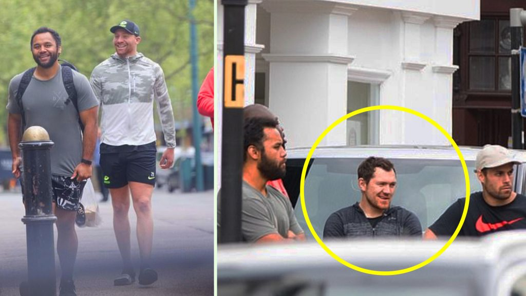 Pictures emerge of Saracens players ignoring national lockdown in new low for the London club