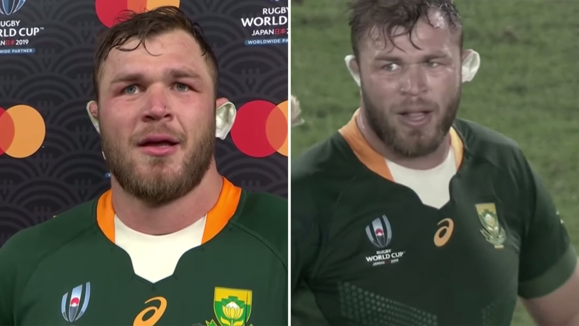 Stunning Duane Vermeulen highlight reel drops revealing Springboks wouldn't have won World Cup without him