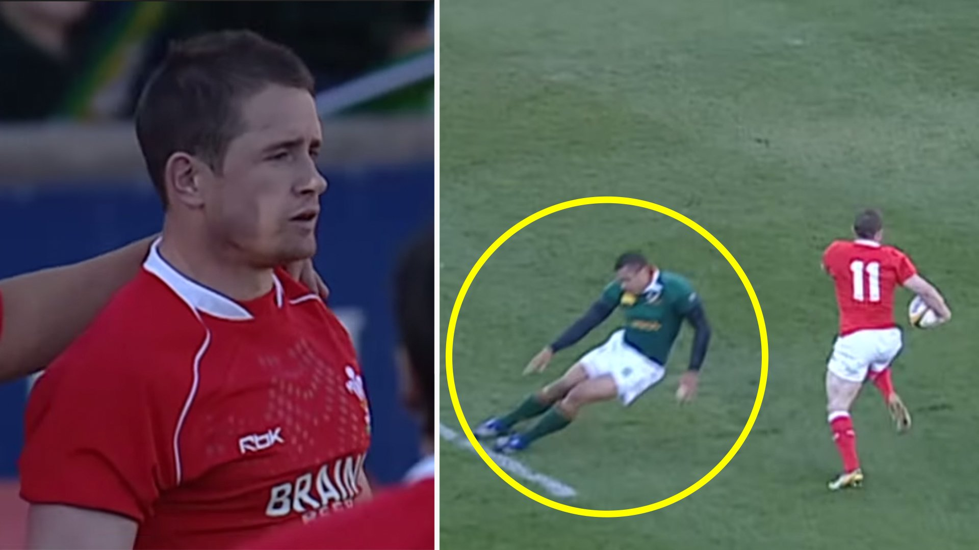 Shane Williams humiliates the entire South Africa team in legendary performance