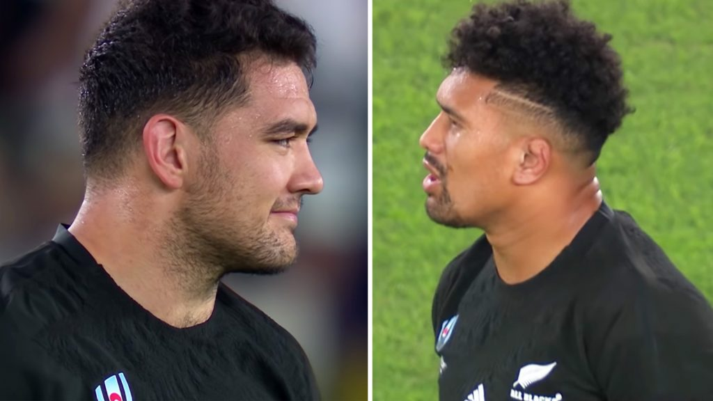 Ardie Savea jamming to house music seconds before a World Cup semi final is EVERYTHING