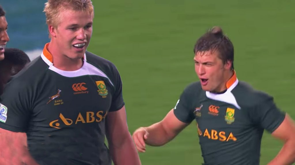 Someone has sent us in footage of South Africa's Junior World Cup team in 2012 and it's outstanding