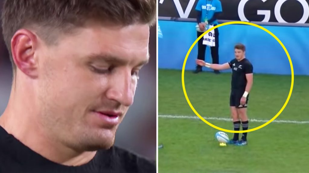 More damning evidence emerges that shows Beauden Barrett is the biggest cheat in rugby
