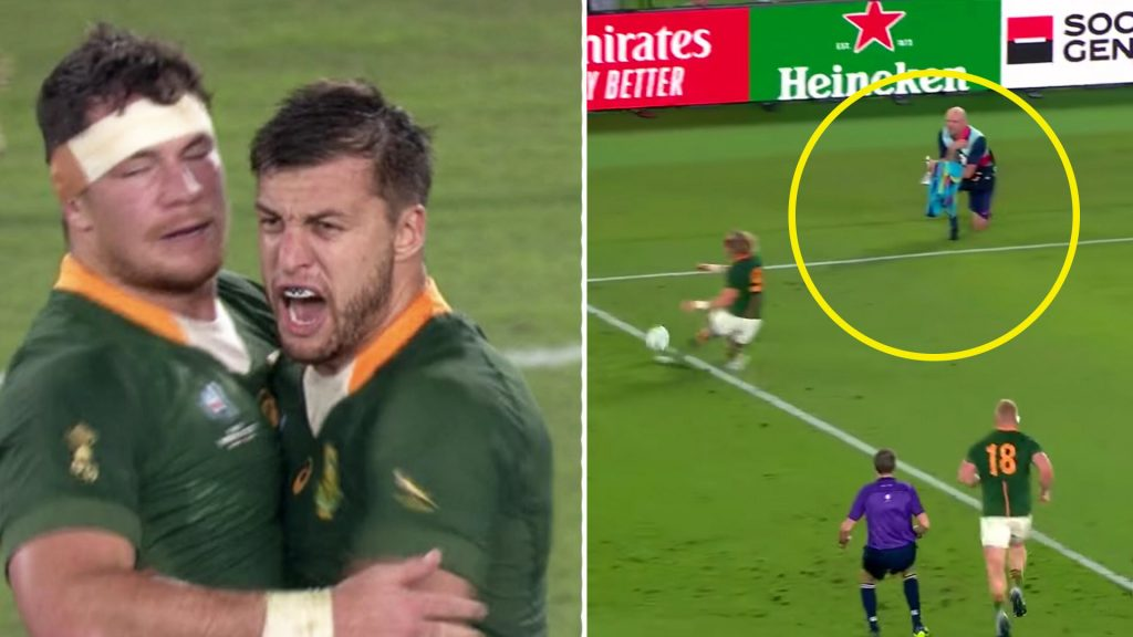 The piece of tactical genius that won South Africa the Rugby World Cup