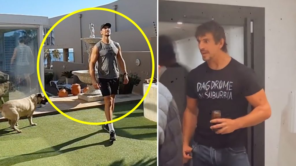 Eben Etzebeth reveals surprising new skill that he has learnt while there is no rugby on and fans love it