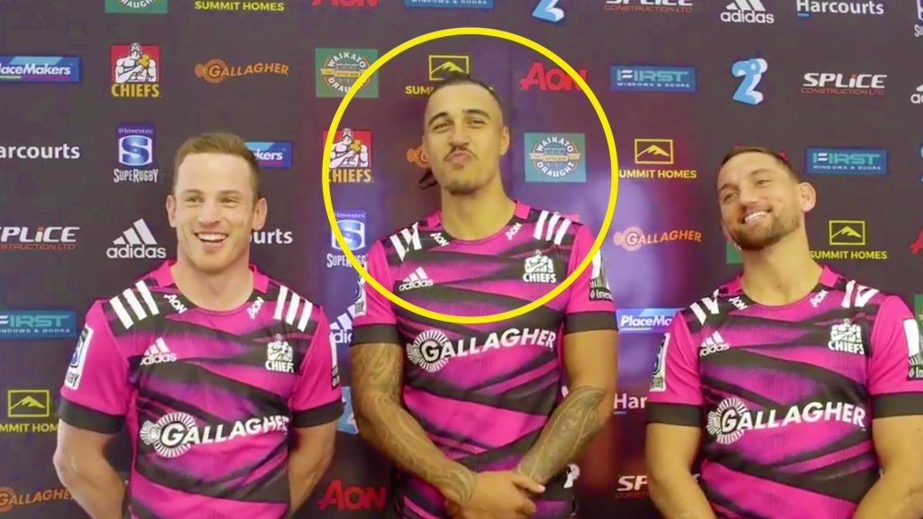 Chiefs players reveal REAL reason that they wore pink for the Super Rugby opener