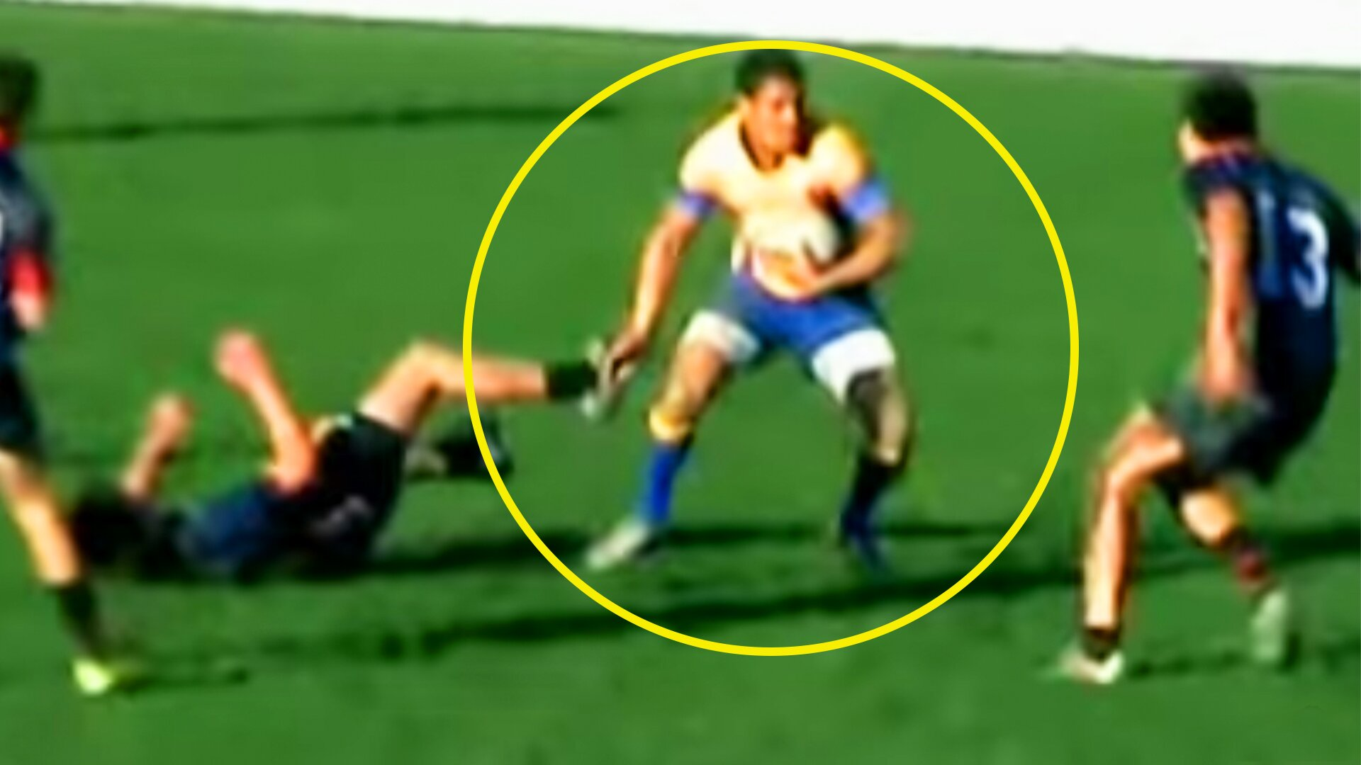 We've found footage of the Savea brothers in high school and it's INSANE
