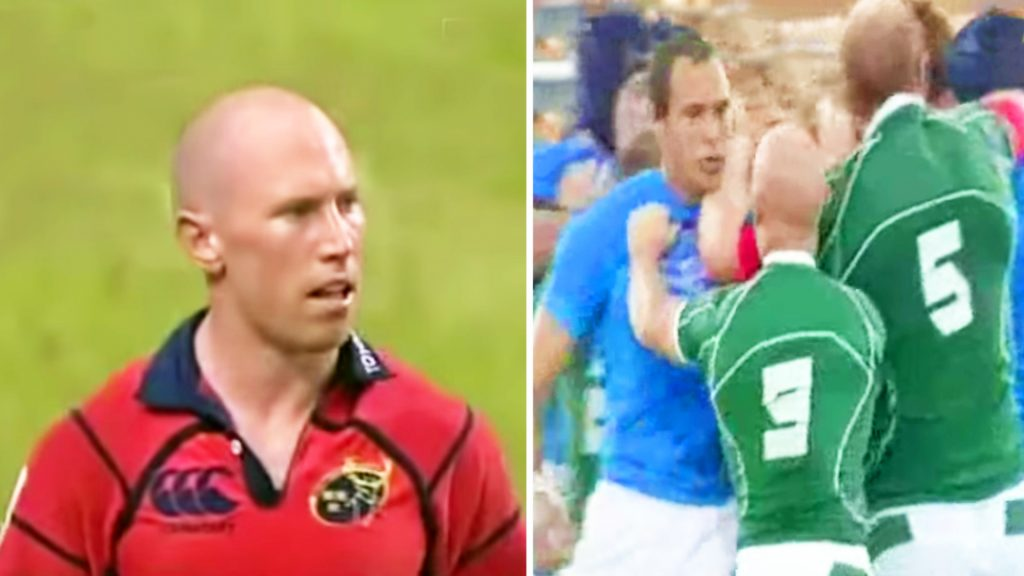 Is Peter Stringer the hardest man in rugby?
