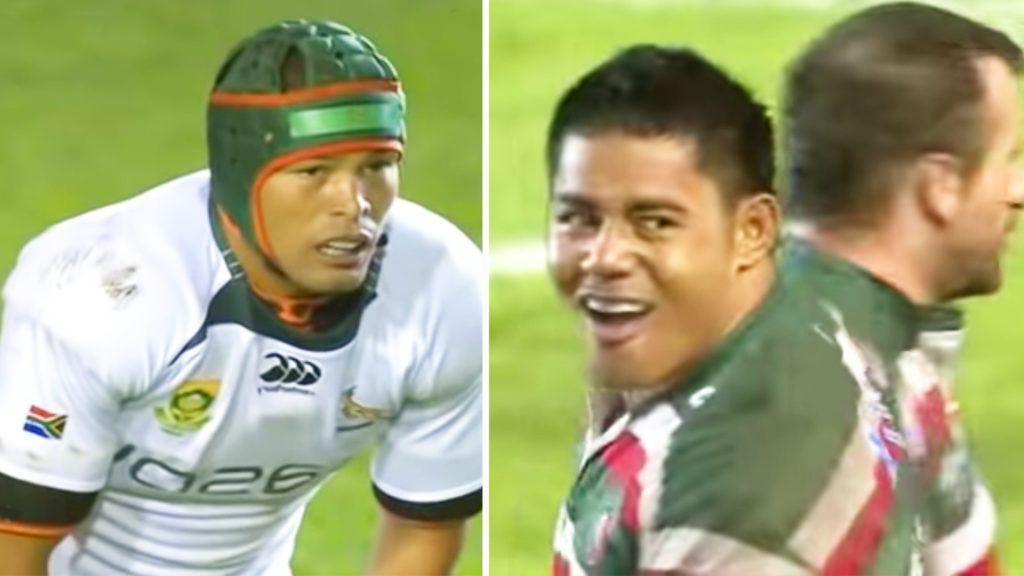 The day South Africa met Leicester Tigers