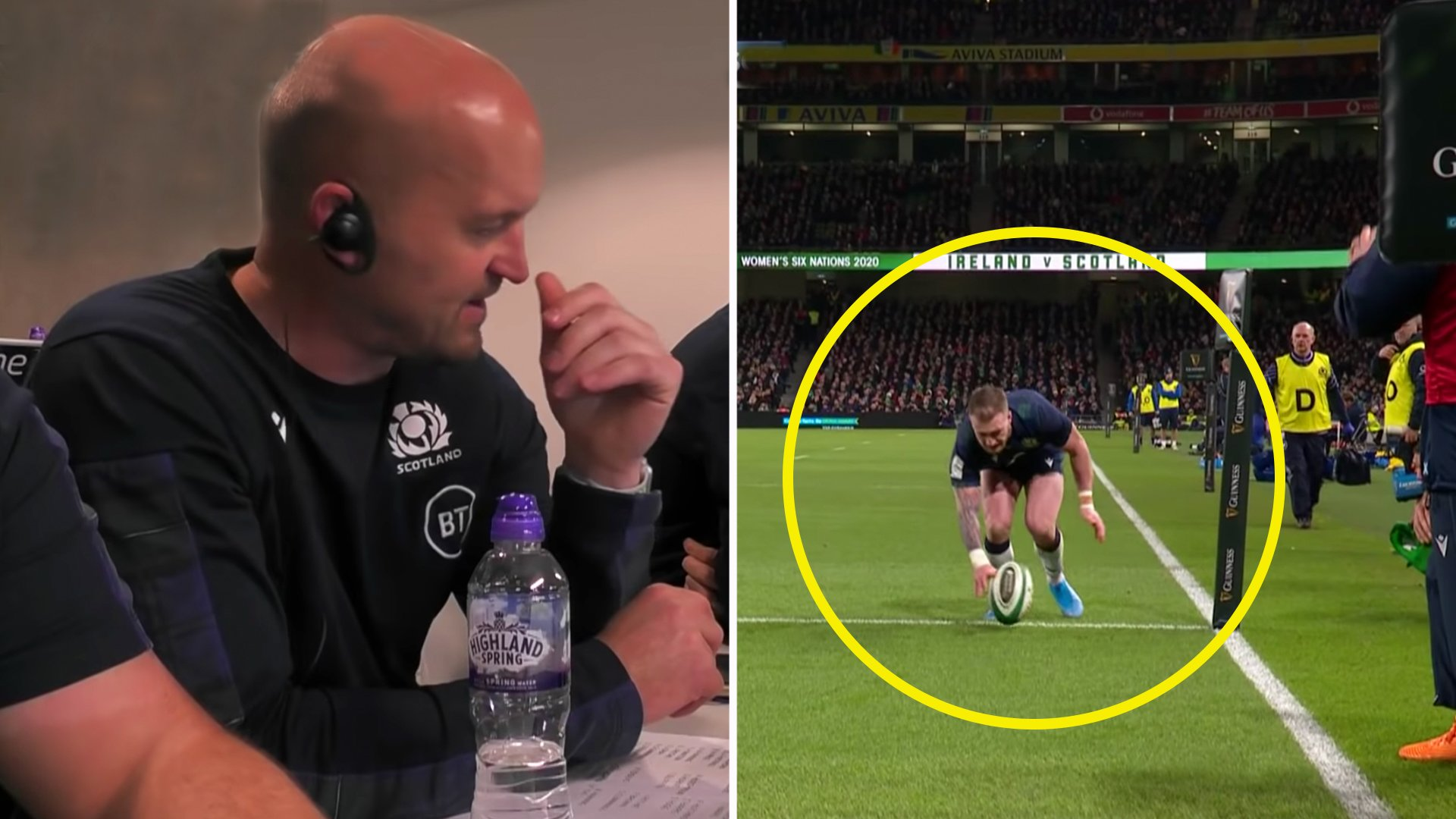Coach mic picks up derogatory Gregor Townsend comments after Hogg error in unheard new audio
