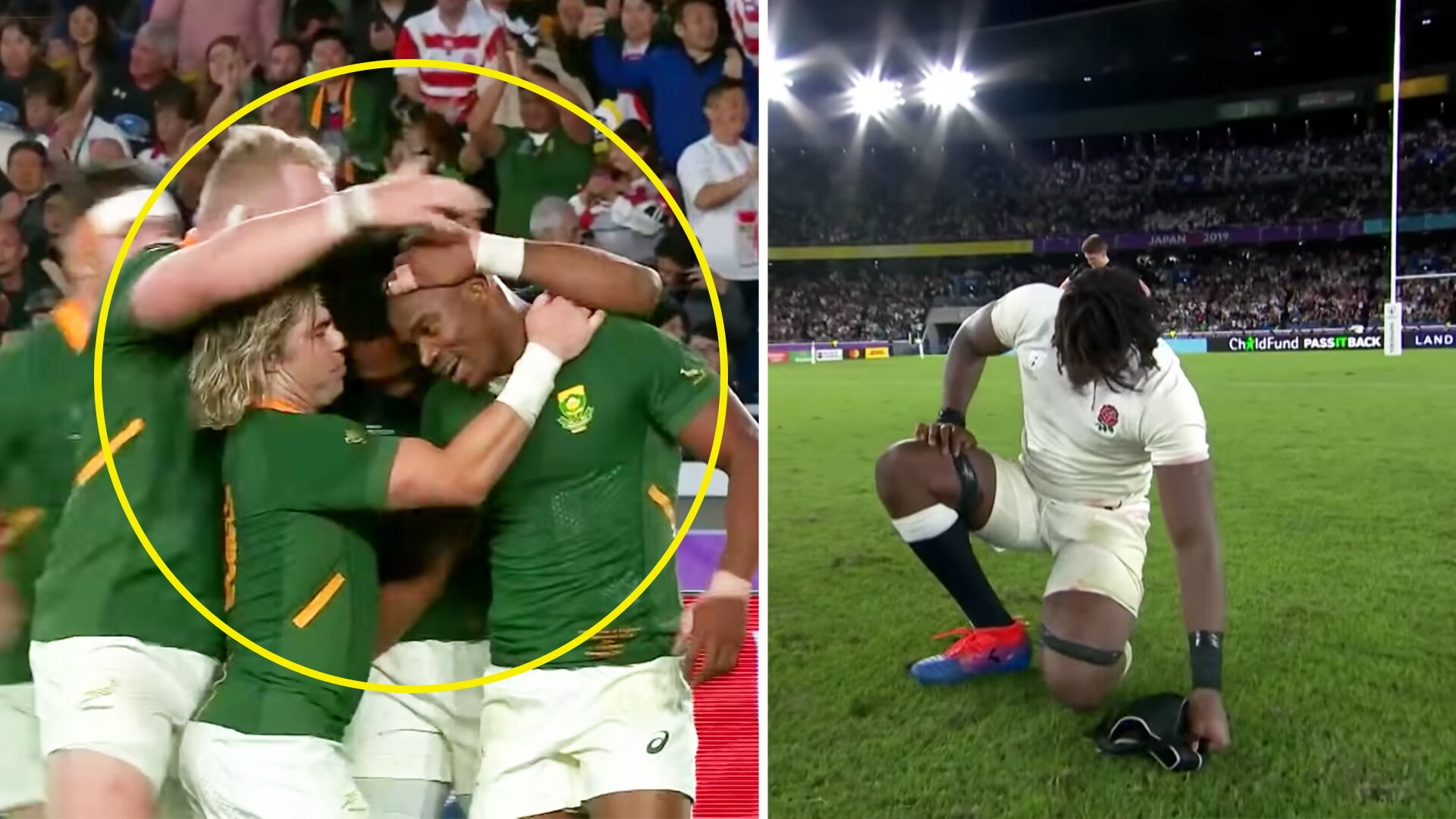 A rugby fan has brilliantly worked out how South Africa dismantled England at the 2019 World Cup