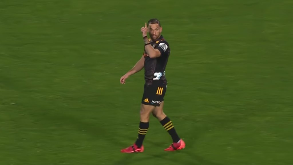 Rugby fans are losing their minds over player cam footage of former All Black Aaron Cruden
