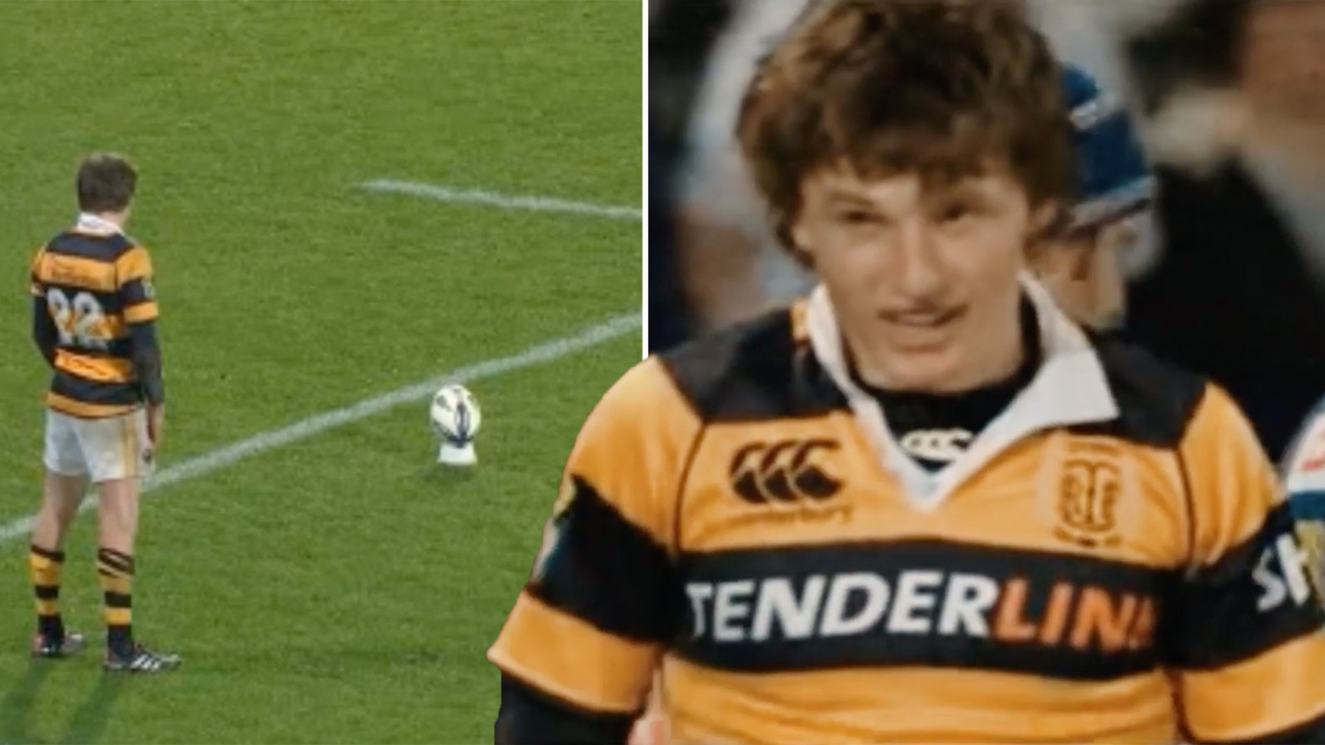 Rugby fan manages to find archived footage of young Beauden Barrett - he was on another level