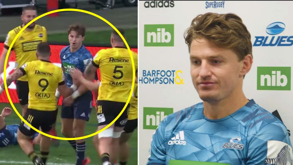 Beauden Barrett speaks of his surprise at Hurricanes players behaviour towards him in post match interview