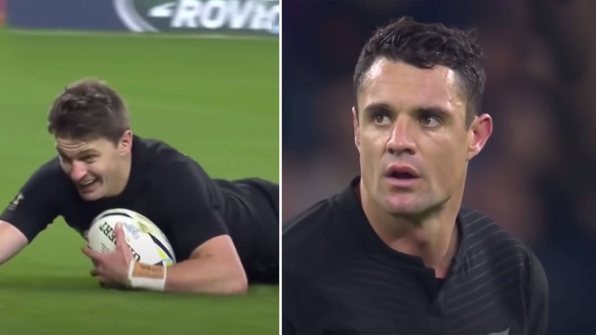 Dan Carter and Beauden Barrett were insane the last time they played together