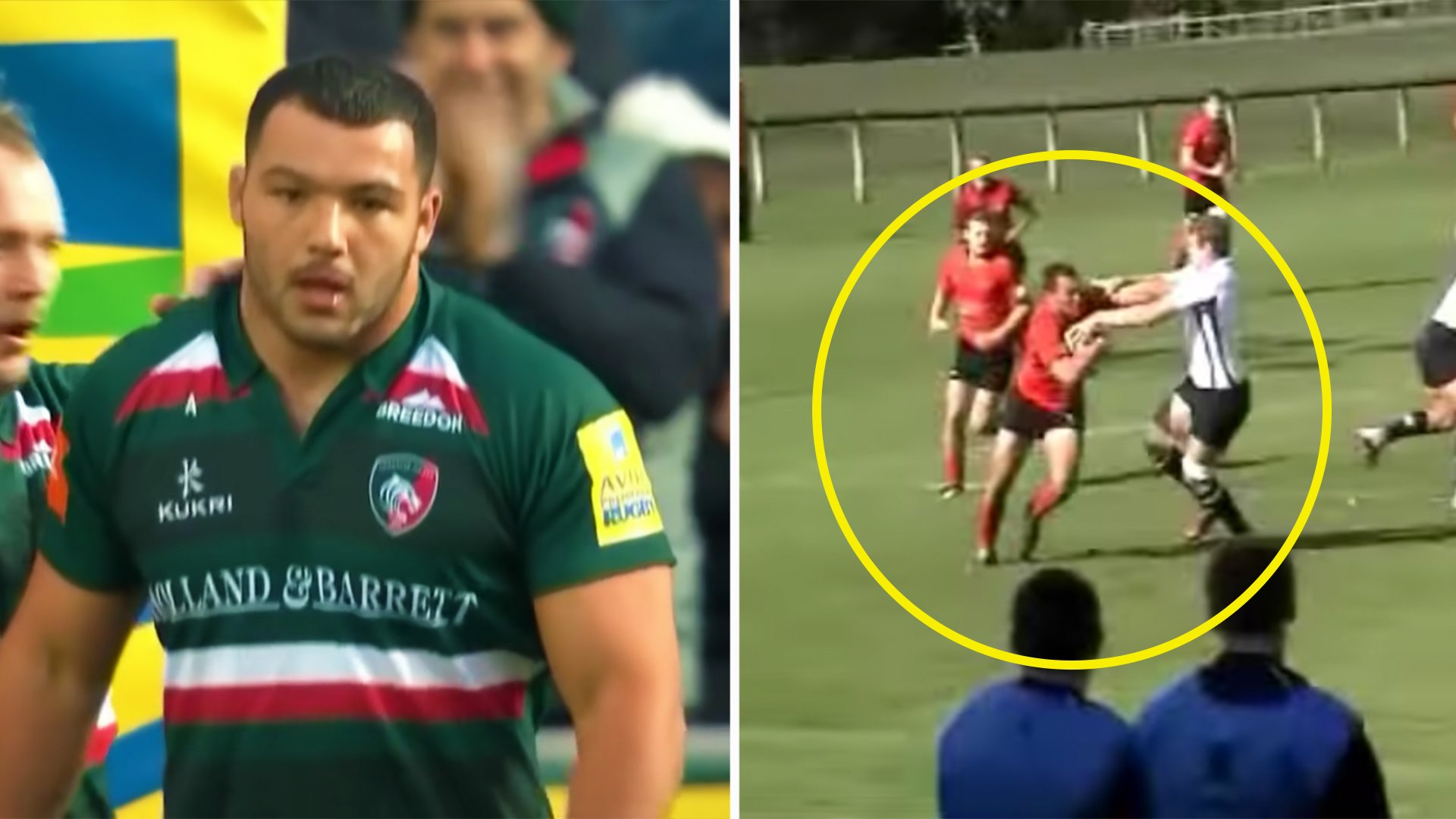 We've unearthed Ellis Genge's teenage highlight reel and it's outstanding