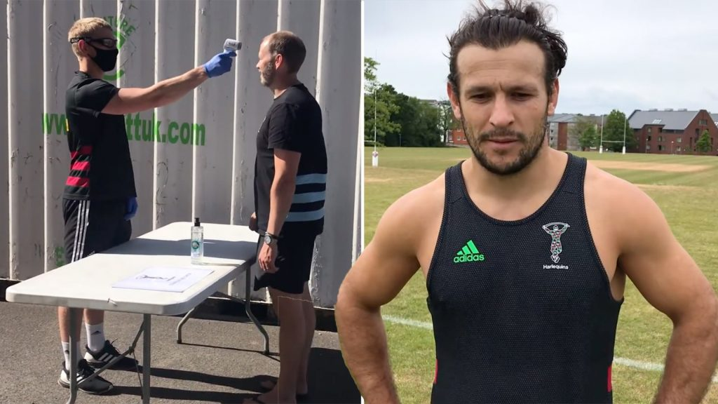 Danny Care frankly reveals just how strange the return to rugby for pro players is like in the UK
